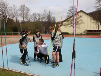 Tolles Leichtathletik-Trainingslager in Baden
