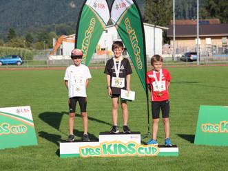 Sieg für Silas am Kantonalfinal des UBS Kids Cup