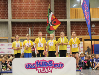 UBS Kids Cup Team: 11 TVH-Teams am Start
