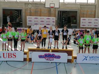 Lokale Ausscheidung UBS Kids Cup Team in Langenthal