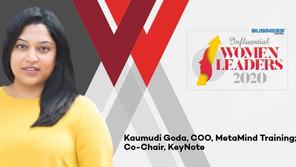 Kaumudi Goda: An Intrepid Leader Daring To Take The Leap
