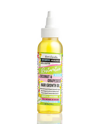 Restorative Coconut & Grapeseed Hair Growth Oil