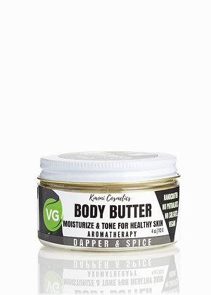 Dapper and Spice Body Butter for Men