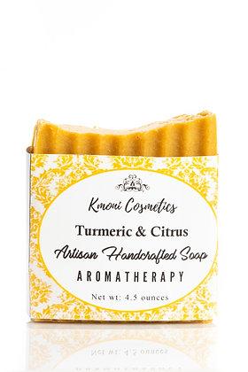 Turmeric & Citrus Artisan Soap