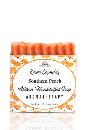 Southern Peach Artisan Soap