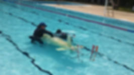 Submarine Race at Moyaone Swim Pool