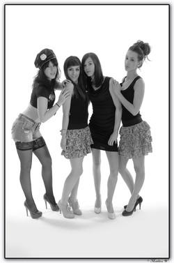 2013-03-14 Samantha & Melody 2eme + Laurie & Gwenaelle (4 R)