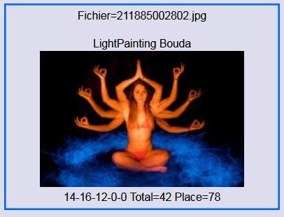 2017 - Lightpainting bouda