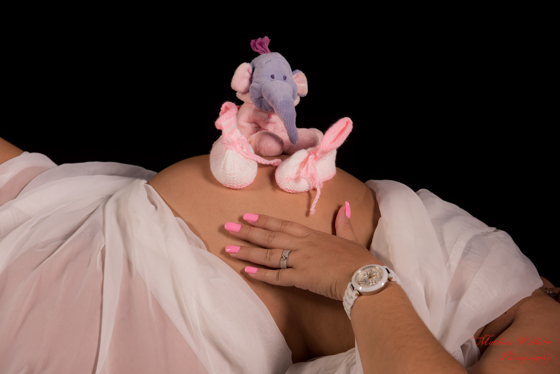 2018-07-23 Marylou grossesse fond noir (