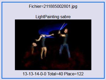 2017 - Lightpainting sabre