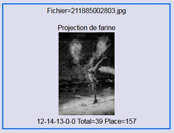 2017 - projection de farine