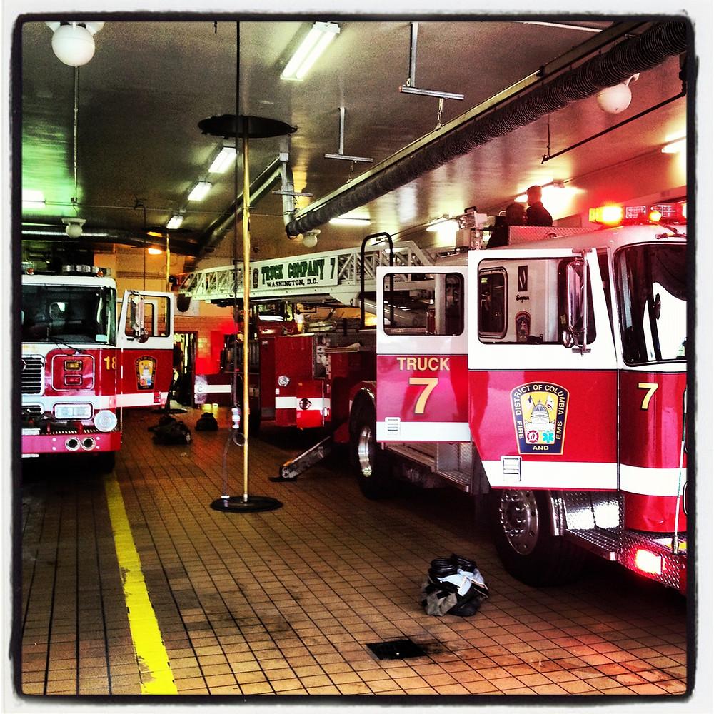 DC Fire Department Ladder 7