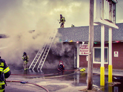 Aggressive Command: Strip-Mall Fires