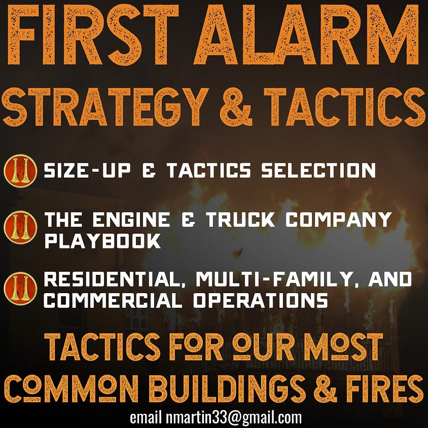 First Alarm Strategy & Tactics - Henrico, VA