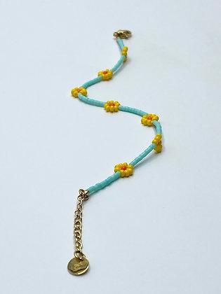 flower bracelet #1