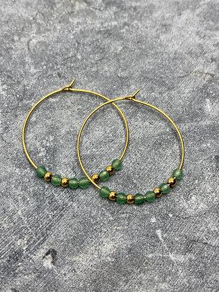 hoop earrings #23