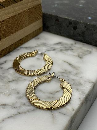 hoop earrings #4