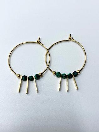 hoop earrings #1