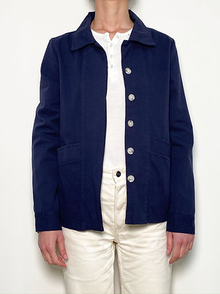 blue workwear jacket
