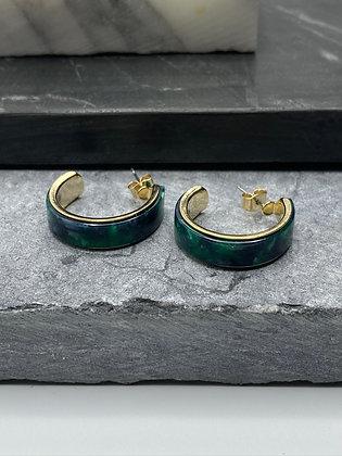 acetate earrings #14