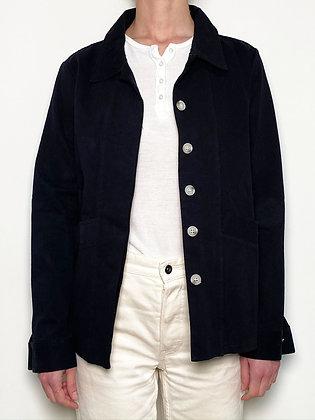 black workwear jacket