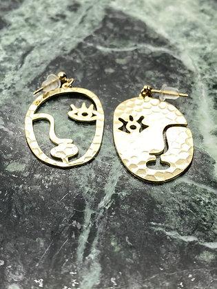 drop earrings #1
