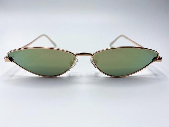 narrow cat eye sunglasses #2