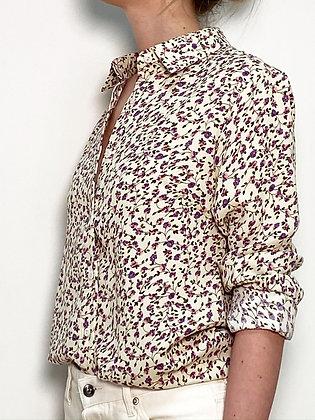 long sleeves floral shirt