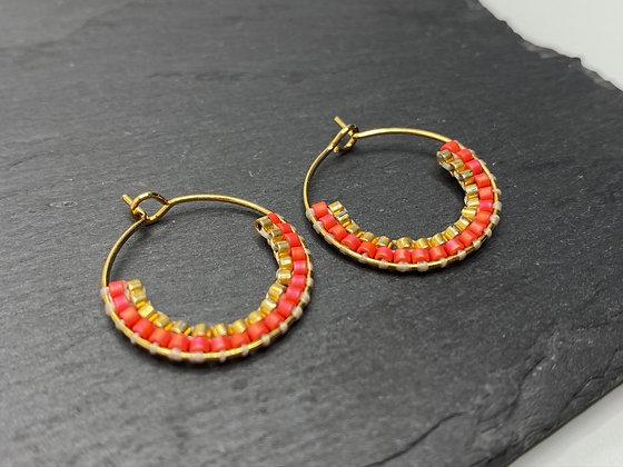 hoop earrings #19