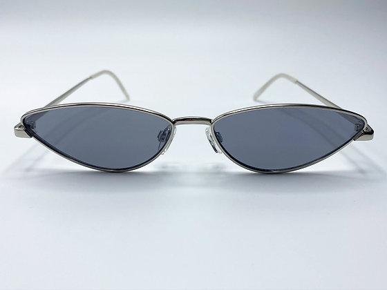 narrow cat eye sunglasses #1