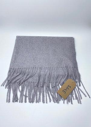 fringed blanket scarf #1