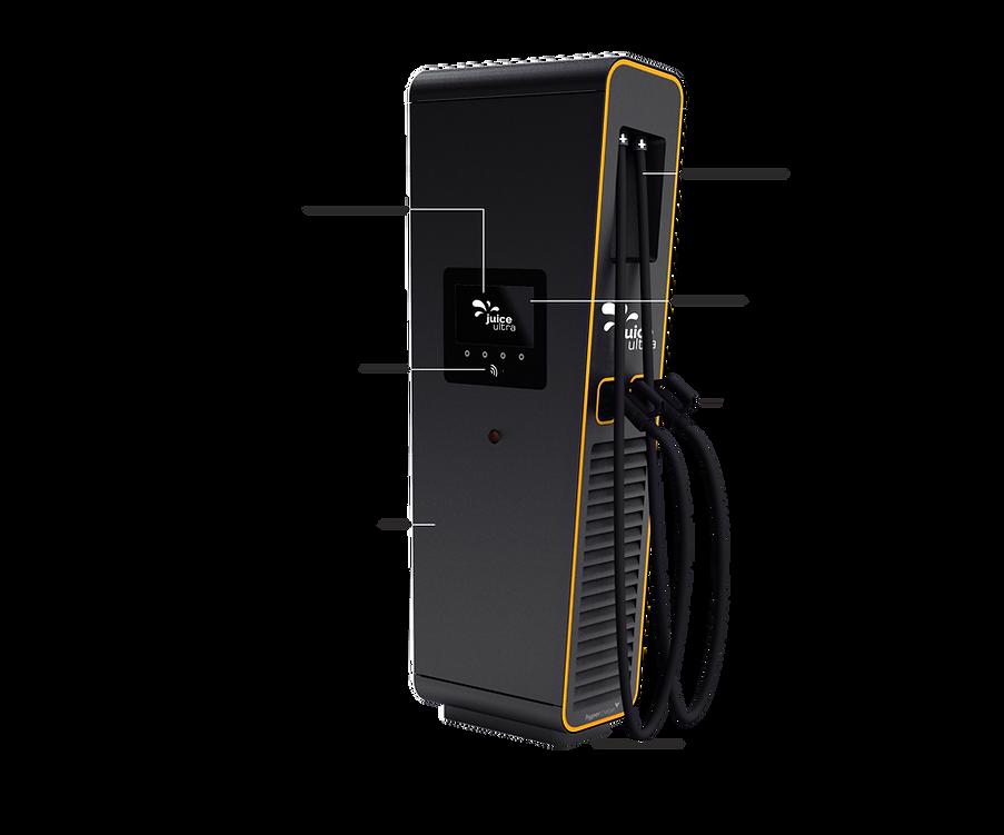 Juice Ultra Schnellladestation für Elektrofahrzeuge