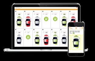 Die Applikation von smartJUICE auf einem Lapto und einem Smartphone.