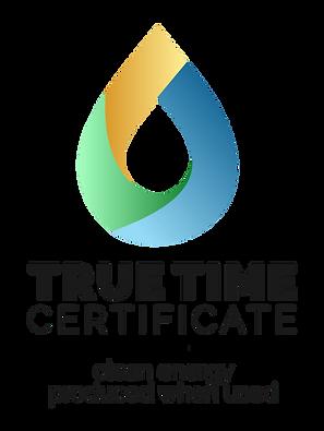 Logo TrueTime-Certificate