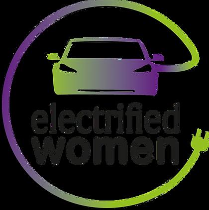 Youtuber electrified woman Logo