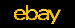 Ebay Button mit schwarzem Hintergrund