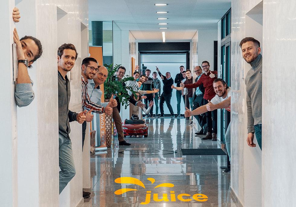 Juice Technology Mitarbeiter