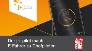 Der j+ pilot macht E-Fahrer zu Chefpiloten