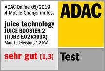 ADAC Siegel Juice Booster 2 Testsieger