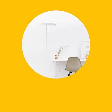 Ergonomische ZYXX Lampen, Dank indirektem, im Raum verteilendem Licht
