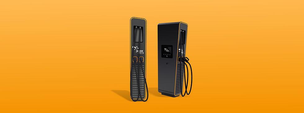 Juice Ultra Schnellladestation für Elektroautos