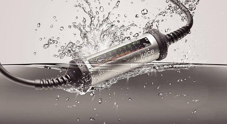 Juice Booster 2 unter Wasser