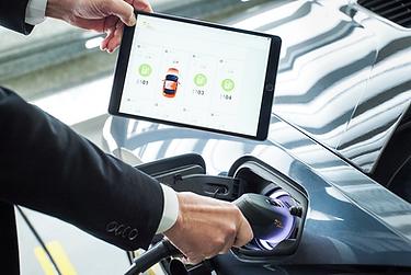 smartJuice gesteuert übers Tablet