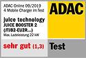Juice Booster 2 (ICCB) ADAC-Siegel