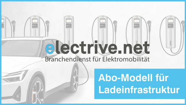 Introducing subscription model for charging infrastructure