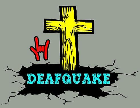 Deafquake 2021 - Heather Grey Background