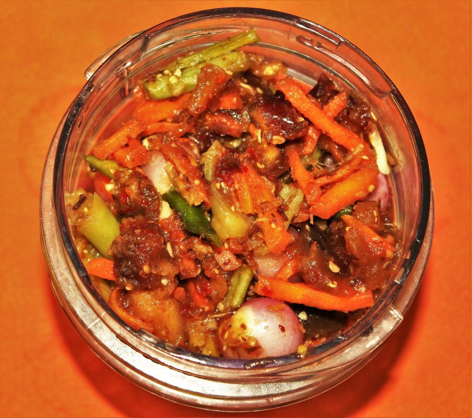 මැලේ අච්චාරු | Malay Pickle