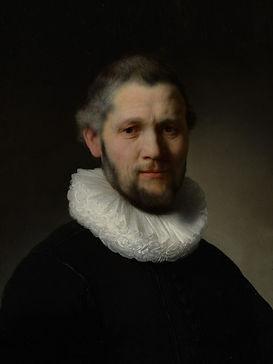 Rembrandt-Portret van een man 30 x 40 cm