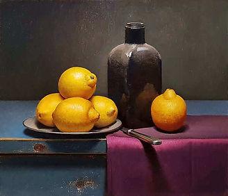 realistisch-stilleven-citroenen-fles_400