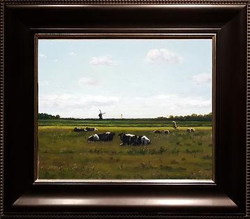 Zomerlandschap met koeien en schapen 24